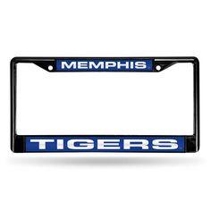 New! Memphis Tigers Laser Cut Black License Plate Frame #MemphisTigers