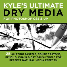 Kye T Webster Ultimate Dry Media brushes. Photoshop Cs5, Photoshop Brushes, Art Studio Design, Art Courses, Dry Brushing, The New Yorker, State Art, Ny Times, Creative Inspiration