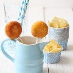 Aperitivos de queso en piruletas, ideal para niños