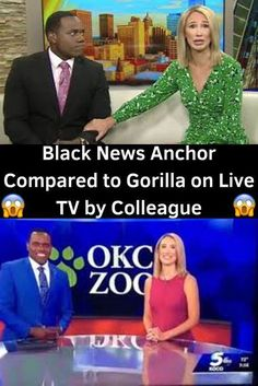 Black News Anchor Compared to Gorilla on Live TV by Colleague News Anchor, The Hard Way, Lets Celebrate, Wtf Funny, Live Tv, Funny Images, Relationship Goals, The Incredibles, Facts