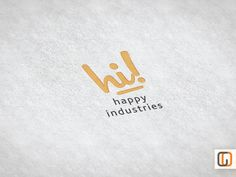 Happy Industries / Pre-made Logo Design / Etsy by GraphicOverdrive