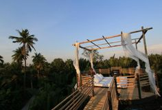 Bangkok Tree House: An environmental refuge in the heart of the urban setting of Bangkok, this hotel strives to be carbon and waste. Top Hotels, Best Hotels, Beautiful World, Beautiful Places, Treehouse Hotel, Cool Tree Houses, Urban Setting, Luxury Camping, Outdoor Living