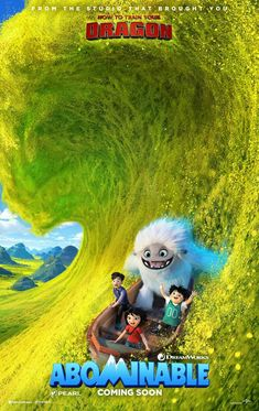 Watch Abominable : Summary Movies A Group Of Misfits Encounter A Young Yeti Named Everest, And They Set Off To Reunite The Magical Creature. Jin, Shrek, Movies To Watch, Good Movies, Shanghai, James Hong, Life Of Crime, Dreamworks Animation, Dreamworks Movies