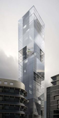 LAN Architecture designed the 486 Mina El Hosn, The tower that looks at Beirut