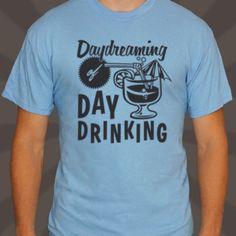 Men Day Drinking T-Shirt by Teesandra4u on Etsy