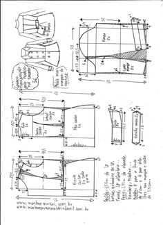 T Shirt Sewing Pattern, Collar Pattern, Pattern Drafting, Dress Sewing Patterns, Jacket Pattern, Sewing Patterns Free, Clothing Patterns, Sewing Coat, Sewing Clothes