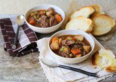 Slow Cooker Beef ; Potato Stew // winter dinner# slow cooker healthy recipes