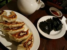 black gyoza at in French Toast, Tokyo, Pie, Breakfast, Desserts, Black, Food, Torte, Morning Coffee