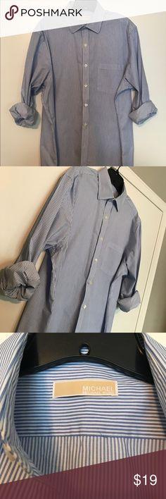 Men's dress shirt Michael Michael Kors mens dress shirt MICHAEL Michael Kors Shirts Dress Shirts