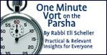"""1 Minute Vort on the Parsha Parshat Be'halot'cha: """"Speak Lower, I Can't Hear You"""""""