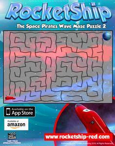 RocketShip Activity 7 Wave Maze Puzzle 2