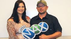 Buying chicken feed at the corner store landed Brett McCoy and Robin Walker the biggest jackpot in Alberta history — a whopping $60-million Lotto Max jackpot.