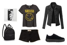 """""""Untitled #19"""" by anastasiatotokotsi on Polyvore featuring Hollister Co. and LE3NO"""