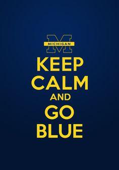 GO BLUE!