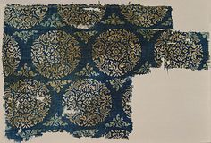 LACMA Collections Online  Textile fragment.  India, Gujarat  13th-14th C  Block printed?  http://collections.lacma.org/node/205034