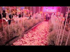 ▶ Trailer - 'The Lover' Wedding by Misa Vu - YouTube SO many cool wedding ideas