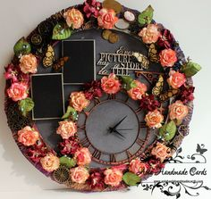 decoupage wall clocks - Google pretraga