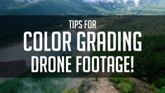 FREE DJI LOG LUT: https://www.groundcontrolcolor.com/free-dji-lut.html In this tutorial, I'll show you some of my top color grading tips for aerial footage. ...
