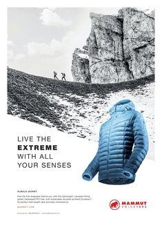 Mammut Sports Advertising, Hiking Jacket, Sustainability, Sustainable Development