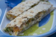 Kid Friendly Chicken and Broccoli Quesadilla | OAMC from Once A Month Meals