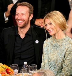 Gwyneth Paltrow and husband Chris Martin announced their separation on Tuesday, March 25 -- See how Paltrow opened up about her troubled marriage over Chris Martin, Gwyneth Paltrow, Hollywood Couples, Celebrity Couples, Celebrity News, Celebrity Style, Hollywood Stars, Celebrity Crush, Golden Globe Award