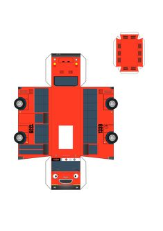 Another tayo friend papercraft for download.