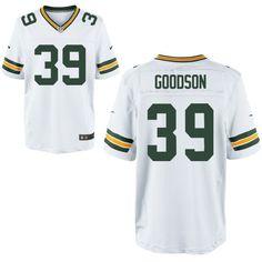 Green Bay Packers #39 Demetri Goodson Elite Jersey