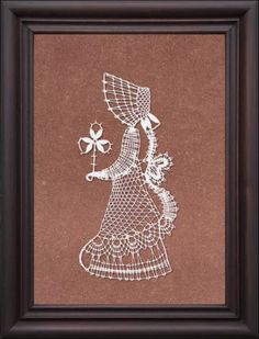 Fotoğraf: Lacemaking, Bobbin Lace, Fairy Tales, Moose Art, Weaving, Embroidery, Crochet, Frame, How To Make