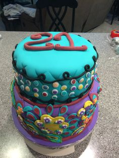 Vera Bradley cake