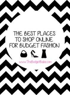 A list of DOZENS of sites for cheap dresses, shoes, bags, jewelry, daily deals, designer fashions  more!