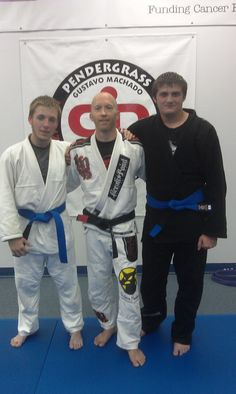 Congrats to Robert Hutwagner and John Hughes, our newest Blue Belts at PAMA! And congrats to Kevin Hicks, Joe Rumfelt, and Boo Holbrook on their stripe promotions! Keep training hard guys.  Pendergrass Academy of Martial Arts Wake Forest, NC