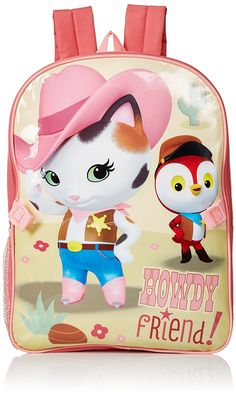 0380ae49a9a3 Disney Little Girls Sheriff Callie Backpack With Lunch Bag   Click image  for more details.