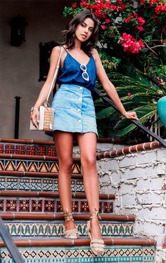 8 inspirações para usar looks all jeans » STEAL THE LOOK