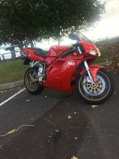 What a ride, Ducati 748