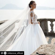 #Repost @millanova_official (@get_repost) ・・・ Astonishing fairytale princess dress from your childhood dreams to make your reveries real #MillaNova #weddinggown #weddingdress #weddinglook #vestidodenoiva #noivos #weddingphotography #bridalstyle #bridalshower #futuremrs #gown #lacedress #weddingdresses #weddings #weddingvibes #gettingmarried #instawed #brideandgroom #veil #silkdress #fashiondress #dressy #bridalaccessories #styleoftheday #bridesmaiddress #longdress #highfashion #princess…