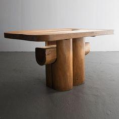 Trunk Furniture, Dining Furniture, Console Table, Dining Table, Dining Chairs, Table For 12, Brazilian Hardwood, Vintage Furniture Design, Ferrat