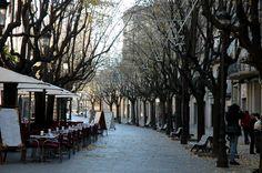 Girona : Rambla al centre