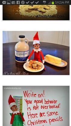 Elf breakfast ideas