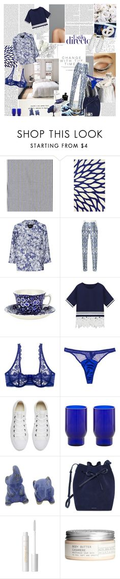 """""""Untitled #1275"""" by the-dawn ❤ liked on Polyvore featuring KEEP ME, nuLOOM, éS, Raoul, Bibhu Mohapatra, Burleigh, Passionata, Fleur of England, Converse and Lanzavecchia + Wai"""