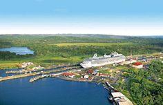Panama Canal, Panama City, Panama | via The Cruise Lines