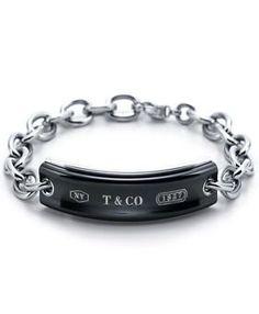 Tiffany & Co 1837 Titanium ID Bracelet of course