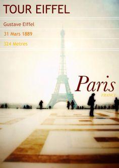 Paris - Phoster Tour Eiffel