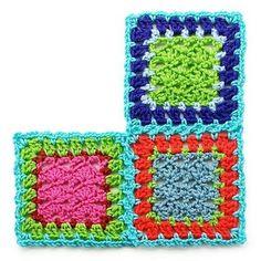 Crochet Braids Zetten : Tutorial aan elkaar zetten gehaakte lapjes Haaktips en gratis ...