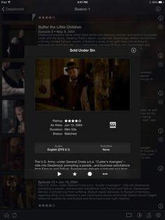 PLEX iPad Screenshot