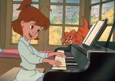 Disney Movies | 1988-Oliver and Company. we had a little cat named after Oliver from this movie.