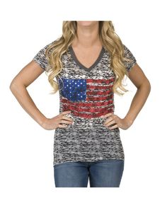 Panhandle Slim Women's Rock & Roll Cowgirl Short-Sleeve Knit T-Shirt http://www.countryoutfitter.com/products/57218-womens-rock-and-roll-cowgirl-short-sleeve-knit-t-s