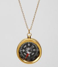 i bought this necklace today. i am obsessed with compasses recently.