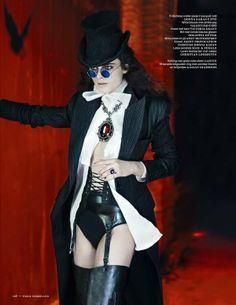Modern Baroque Fashion - The Vogue Netherlands Neo-Victorian Editorial Stars Anna de Rijk (GALLERY) goth glam hex Baroque Fashion, Dark Fashion, Victorian Fashion, Gothic Fashion, Fashion Art, Fashion Blogs, Fashion Pics, Timeless Fashion, Womens Fashion