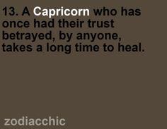 Capricorn...totally true!