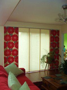 Curtain Panel glides Panel Blinds, Panel Curtains, Blinds For Large Windows, Sliding Panels, Nottingham, Home Decor, Decoration Home, Room Decor, Shades Blinds